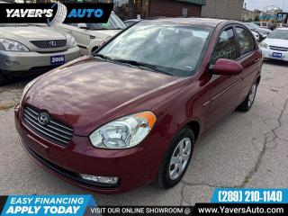 Used 2009 Hyundai Accent GL for sale in Hamilton, ON