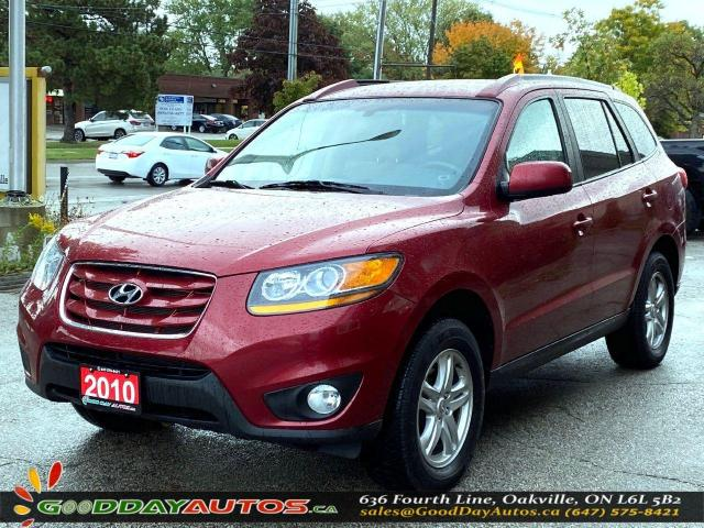 2010 Hyundai Santa Fe GL|LOW KM|NO ACCIDENT|AWD|BLUETOOTH|CERTIFIED