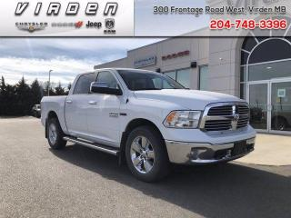 Used 2018 RAM 1500 Big Horn for sale in Virden, MB