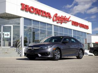 Used 2018 Honda Civic EX APPLE CARPLAY | SUNROOF for sale in Winnipeg, MB