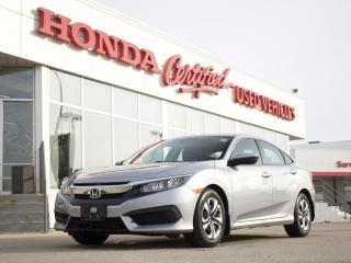 Used 2016 Honda Civic LX APPLE CARPLAY | LOCAL for sale in Winnipeg, MB