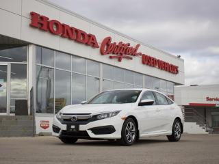Used 2017 Honda Civic LX APPLE CARPLAY | LOCAL for sale in Winnipeg, MB