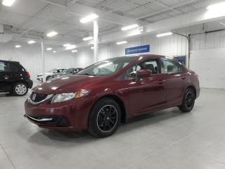 Used 2015 Honda Civic LX - CAMERA + BLUETOOTH + SIEGES CHAUFFANTS !!! for sale in Saint-Eustache, QC