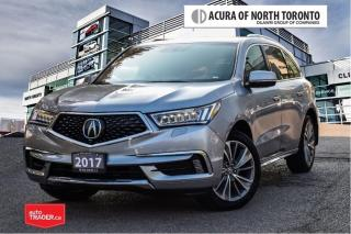 Used 2017 Acura MDX Elite No Accident| DVD| 360 Camera|7Yrs Warranty I for sale in Thornhill, ON