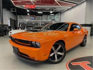 Used 2014 Dodge Challenger R-T I SHAKER PACKAGE I LOW KM I NAV I COMING SOON for sale in Vaughan, ON