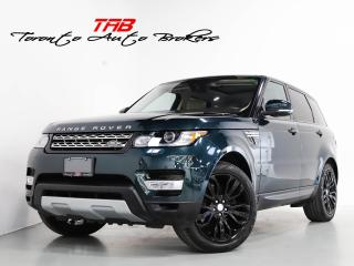 Used 2017 Land Rover Range Rover Sport TD6 HSE I PANO I NAV I 21 IN WHEELS I LOCAL VEHICL for sale in Vaughan, ON