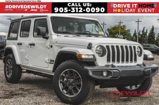 New 2021 Jeep Wrangler Unlimited UNLIMITED 80TH ANNIVERSARY | COLD WEATHER | for sale in Hamilton, ON