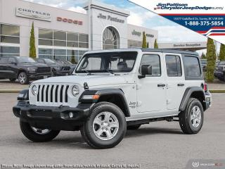 New 2021 Jeep Wrangler Unlimited Willys for sale in Surrey, BC