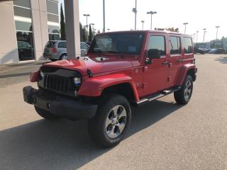 Used 2017 Jeep Wrangler Unlimited Sahara****only 17574 kms for sale in Surrey, BC