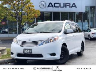 Used 2015 Toyota Sienna LE AWD 7-Passenger V6 for sale in Markham, ON