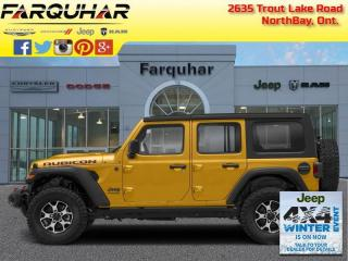 New 2021 Jeep Wrangler Unlimited Rubicon for sale in North Bay, ON