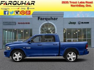 Used 2017 RAM 1500 Sport - Leather Seats for sale in North Bay, ON