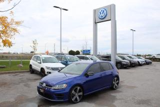 Used 2017 Volkswagen Golf R 2.0L Manual for sale in Whitby, ON