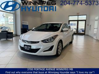 Used 2015 Hyundai Elantra GL for sale in Winnipeg, MB