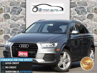 Used 2016 Audi Q3 2.0T Progressiv for sale in Etobicoke, ON