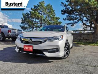 Used 2016 Honda Accord Sedan 4dr I4 CVT Touring | Sunroof | Navi | Leather for sale in Waterloo, ON