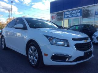 Used 2015 Chevrolet Cruze LT - Automatic - Remote Start for sale in Cornwall, ON