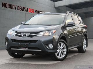 Used 2015 Toyota RAV4 AWD 4dr Limited for sale in Mississauga, ON