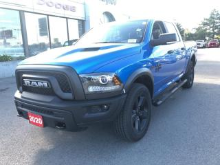 New 2020 RAM 1500 Classic Warlock Crew 4x4 V8 for sale in Hamilton, ON