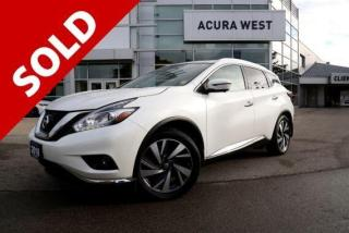 Used 2018 Nissan Murano Platinum for sale in London, ON