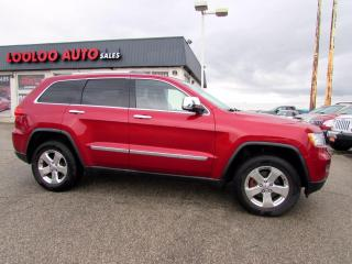 Used 2011 Jeep Grand Cherokee Overland 4WD Navigation Camera Panoramic Certified for sale in Milton, ON