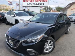 Used 2016 Mazda MAZDA3 All Power/Keyless/Push Start/ABS&GPS*$45/Wkly for sale in Mississauga, ON