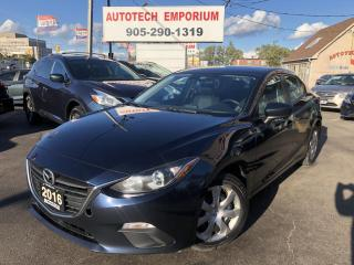 Used 2016 Mazda MAZDA3 All Power/Keyless/Push Start&GPS*$39/wkly for sale in Mississauga, ON