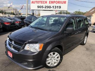Used 2016 Dodge Grand Caravan DVD Entertainment/Econ/Keyless/Cruise for sale in Mississauga, ON