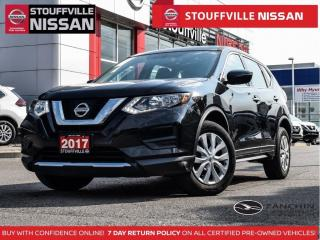Used 2017 Nissan Rogue S AWD  Heated Seats  Clean Carfax  ONE Owner  XM for sale in Stouffville, ON
