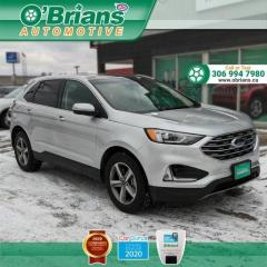 Used 2019 Ford Edge SEL w/Mfg Warranty, AWD, Cmd Start, Heated Seats, Navigation, La for sale in Saskatoon, SK