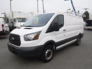 Used 2016 Ford Transit 250 Van Low Roof with Rear Shelving and Ladder Rack 130-in. Wheelbase for sale in Burnaby, BC
