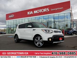 Used 2018 Kia Soul EX TECH|1-OWNR|ACCDNT-FREE|NAV|LTHR|PANO ROOF|SFTY for sale in Georgetown, ON