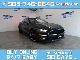 Used 2020 Ford Mustang BULLITT | RECARO SEATS | NAV | BREMBO | 480 HP! for sale in Brantford, ON