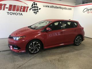Used 2017 Toyota Corolla iM CVT, SEULEMENT  13448 KM for sale in St-Hubert, QC