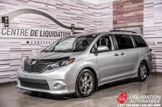 Used 2014 Toyota Sienna SE+CAM/RECUL+TOIT+SIEGES/CHAUFF+BLUETOOTH for sale in Laval, QC