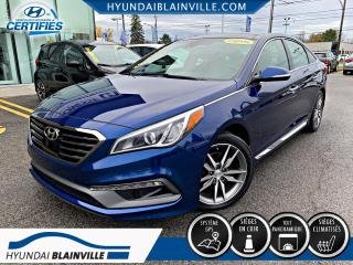 Used 2015 Hyundai Sonata 2.0 TURBO ULTIMATE NAVIGATION,TOIT PANO, for sale in Blainville, QC
