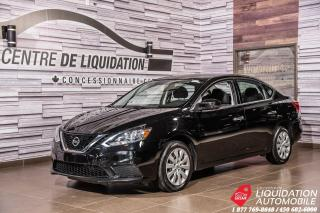 Used 2017 Nissan Sentra SV+CAM/RECUL+SIEGE/CHAUFF+BLUETOOTH+GE ELECT for sale in Laval, QC