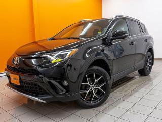 Used 2016 Toyota RAV4 SE AWD ANGLES MORTS HAYON ÉLECT TOIT NAV *CUIR* for sale in St-Jérôme, QC