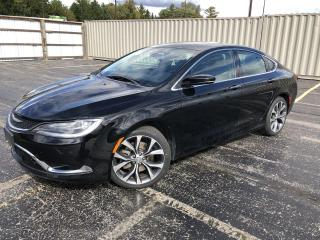 Used 2016 Chrysler 200 C 2WD for sale in Cayuga, ON