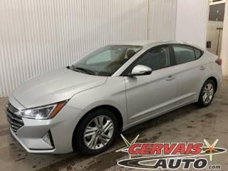 Used 2019 Hyundai Elantra Preferred Mags Caméra A/C Bluetooth for sale in Trois-Rivières, QC
