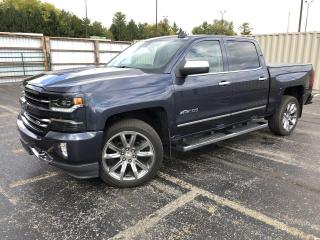 Used 2018 Chevrolet Silverado 1500 LTZ Crew Cab 4WD for sale in Cayuga, ON