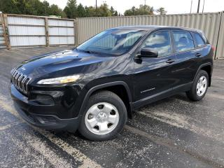 Used 2016 Jeep Cherokee SPORT 4WD for sale in Cayuga, ON