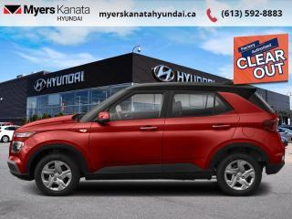 New 2021 Hyundai Venue Essential w/Two-Tone IVT  - $134 B/W for sale in Kanata, ON