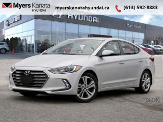Used 2018 Hyundai Elantra GLS Auto  - $125 B/W - Low Mileage for sale in Kanata, ON