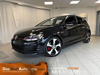 Used 2017 Volkswagen Golf GTI Autobahn, Cuir, Toit, GPS, Manuel for sale in Sherbrooke, QC