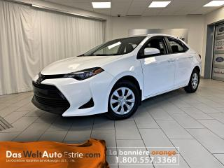 Used 2017 Toyota Corolla LE, Gr. Électrique, A/C, Automatique for sale in Sherbrooke, QC