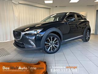 Used 2016 Mazda CX-3 Traction Integral,  GT, Cuir, Toit, Automatique for sale in Sherbrooke, QC