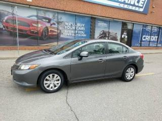 Used 2012 Honda Civic LX for sale in Mississauga, ON