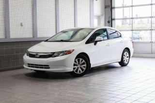 Used 2012 Honda Civic LX for sale in Lasalle, QC