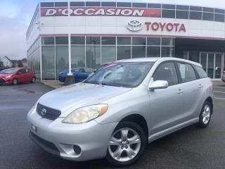 Used 2007 Toyota Matrix XR 5VIT **AIR CLIM/MAGS** for sale in St-Eustache, QC